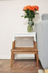 bedside table step stool